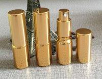 glaszerstäuber sprühflaschen großhandel-10 ml 20 ml 30 ml 50 ml 100 ml nachfüllbare leere Zerstäuber-Sprühflaschen aus Goldglas, Parfüm-Glasflaschen, Flasche in Unterpackung