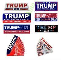 ingrosso adesivi toyota highlander-best seller Donald Trump 2020 Adesivi per auto Adesivo per paraurti Keep Keep America Great Decal per Car Styling Vehicle Paster
