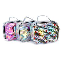 Wholesale lovely ladies clothes for sale - Unicorn Makeup Bag Lady Laser Makeup Bag Handbag Student Cartoon Storage Bags Summer Lovely Lady Bag