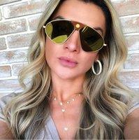 поддержка солнцезащитных очков оптовых-Бесплатная доставка в Европу и новые модные металлические поляризованные очки мужские и женские модные силиконовые носа удобные солнцезащитные очки
