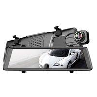 rétroviseur dvr bluetooth achat en gros de-10 pouces plein écran 3G Contact Ips Universal Bundled voiture Dash Cam Vue Arrière Rétroviseur Avec Gps Navi Bluetooth Wifi Voiture Andr dvr