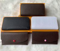 erkek debriyajlar toptan satış-çanta tasarımcısı tasarımcı cüzdan lüks debriyaj kadın cüzdan erkek cüzdan tasarımcı çanta kart sahibinin kutusu ile hakiki deri m60017