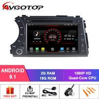 Wholesale ssangyong radio resale online - AVGOTOP Android Car Radio Navigation Player for SSANGYONG Korando Action Cyron Actyon sports Wifi Vehicle GPS Multimedia car dvd