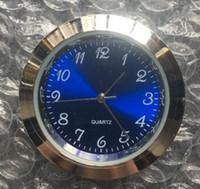 kullanılan ekler toptan satış-METAL 37mm uç saat en popüler kullanılan standart mavi arapça mini 37mm gümüş metal uç saat roman dial fit saat