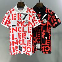 gençler modası erkekler gömlekleri toptan satış-2019 İlkbahar Yaz Moda Polo Erkek Tasarımcı Marka T-shirt Işlemeli Kaplan Kurt Kısa kollu Tişört erkek Gençlik T-shirt 514