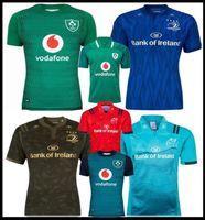 661b06064d7033 18 19 Ireland rugby Jerseys Irish IRFU NRL Munster city Rugby League  Leinster alternate jersey 2018 2019 2020 ulster Irishman shirts