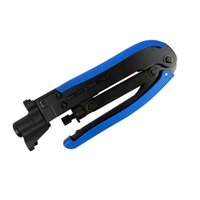 Wholesale crimpers tools resale online - Adjustable Coaxial Cable Crimpers Crimping Hand Tool For RG59 RG6 RG