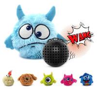 elektrikli köpek oyuncakları toptan satış-Elektrikli Oyuncak Top Köpek Kedi Oyuncak Otomatik Pet Peluş Top Aktivasyon Otomatik Topu Peluş Komik Chew