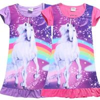 3ee1dd8645bf Wholesale watermelon dresses for babies girls online - Unicorn Medium  Length Skirt for Girls Baby Kids
