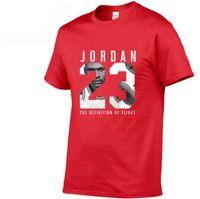 t-shirt 23 großhandel-Die neuesten 2019 Sommer Herren Designer T-Shirt Modemarke 23 Jordn Logo gedruckt Baumwolle T-Shirt Herrentrend casual Kurzarm T-Shirt b
