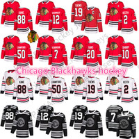 Wholesale patrick kane mens jersey for sale - Group buy 2019 New Winter Classic Chicago Blackhawks jersey Jonathan Toews Patrick Kane Alex DeBrincat Duncan Keith Mens hockey Jerseys