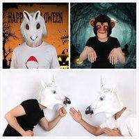 Ragazzi Lupo Gorilla Tigre Costume Di Halloween tutto in Una Tuta Costume Spaventoso