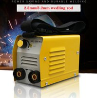 Wholesale welder free shipping resale online - High Quality cheap and portable welder Inverter Welding Machines ZX7