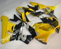 kit de carenado motocicleta honda 929 al por mayor-Carenado ABS amarillo negro para Honda CBR900RR 2000 2001 929 929CBR 900RR 00 01 CBR-900RR Moto Body Motorcycle Kit (moldeo por inyección)