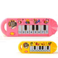 Wholesale electronic music toys for sale - Music Electronic Organ Toys Keyboards Piano For Early Childhood Musical Education Children Vocalization Fashion kk F1