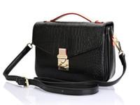 женские сумки из натуральной кожи оптовых-высокое качество натуральная кожа женская сумка почетные сумки Metis через плечо сумки сумка