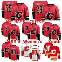 Wholesale hockey jersey s for sale - Group buy Calgary Flames Jerseys Johnny Gaudreau Jersey Matthew Tkachuk Elias Lindholm Noah Hanifin Mark Giordano Ice Hockey Jerseys Custom Stitched
