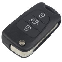 Uncut Blade 3 Buttons Flip Remote Key Shell Car Keys Blank Case Cover With