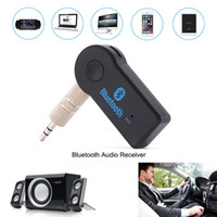 ingrosso audio universale-Universal Car Stereo Bluetooth Receiver Auto Kit 3,5 millimetri A2DP wireless audio AUX Music Receiver Adapter Handsfree per cuffie telefono