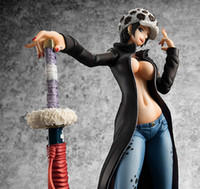 Wholesale one piece law toys for sale - NEW hot cm One piece sexy female version Trafalgar D Water Law action figure toys collection christmas toy doll with box