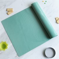 Wholesale baking dough for sale - Group buy Silicone Baking Mat with Scale Reference Lines in Non Stick Rolling Dough Pad Baking Supplies Cooking Tools JK2001
