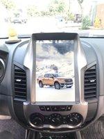 12,1-дюймовый экран оптовых-ЭКРАН СИСТЕМЫ МУЛЬТИМЕДИЙНЫХ АВТОМОБИЛЕЙ Android FORD RANGER в стиле Тесла 12.1 ДЮЙМОВ Горячая точка GPS / ВИДЕО / АУДИО / WIFI / BLUETOOTH