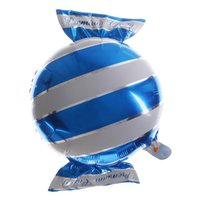 принадлежности для воздушных шаров оптовых-Candy Foil Balloons helium balloon wedding decorations baloon air balls happy Birthday balloons Inflatable toys Party Supplies