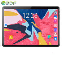 Wholesale phones 1g card resale online - 10 inch Tablets D Tempered Glass G G Phone Call Android Quad Core GB RAM GB ROM MP IPS Wi Fi Cards Tablets PC