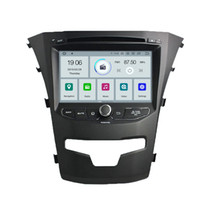 Wholesale video systems for cars for sale - COIKA Android System G RAM Car DVD Head Unit For Ssangyong Korando Touch Stereo Radio Quad Core GPS Navi WIFI DVR OBD Google
