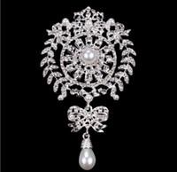fabricants de bijoux étrangers achat en gros de-L'Europe et les États-Unis commerce extérieur couronne grande broche, papillon de perles, bijoux de coquille, et d'autres fabricants en gros