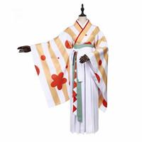 traje de kagamine al por mayor-Vocaloid Hatsune Miku Kagamine Rin Ren traje de cosplay niconico kimono estampado de flores traje de fantasía para las mujeres niña