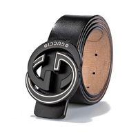 bouton en laiton achat en gros de-Haute qualité en laiton perlé bouton de luxe nouvelle ceinture de créateur de mode pour hommes de haute qualité en cuir véritable de peau de vache pour trou