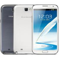 ingrosso macchina fotografica doppia del cellulare 3g-Originale ristrutturato Samsung Galaxy Note 2 N7100 N7105 5.5 pollici Quad Core 2 GB di RAM 16GB di ROM sbloccato 3G 4G LTE smart Cellulare DHL 30pcs