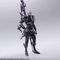 jeux de fantaisie finaux achat en gros de-Play Arts Kai jeu Final Fantasy XIV 14 Estinien Figurine Modèle Jouets T190925