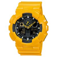 grandes montres numériques achat en gros de-Big Boy montre militaire multifonctions LED imperméable à l'eau numérique vibration quartz montre de sport en plein air montre de style campus livraison gratuite