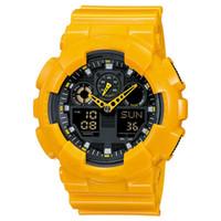 grandes relojes digitales al por mayor-Big Boy reloj militar multifunción LED impermeable digital vibración cuarzo reloj deportivo al aire libre reloj estilo campus envío gratis