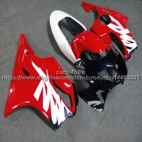 özel motosiklet gövdesi kitleri toptan satış-Botlar + Özel Enjeksiyon kalıp kırmızı Honda için Honda Fair CBR600F4 99-00 CBR600 F4 1999 2000 ABS Body Kit motor paneli