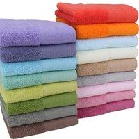 ingrosso abito da bagno di tovagliolo adulto-Accappatoi adulti del corpo della spiaggia di adulto 140 * 70cm Pure Cotton Shower Soft Bath Robe Bath Towel Home Hotel Forniture TTA300