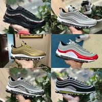 bala x al por mayor-2019 Nike Air Max 97 shoes New Airmax 97 Bullet Undftd Negro Blanco Velocidad Hombres Zapatos ocasionales Nueva llegada Ultra Sean Mujer Undftds Undefeated zapatillas de deporte