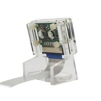 pequeña cámara de video espía al por mayor-Ov5647 Mini Camera Acrylic Holder Case+ Camera Transparent Webcam Bracket Kits With Ffc For Raspberry Pi 3