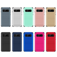 Wholesale galaxy light phone cases resale online - Hybrid Armor Case For Samsung Galaxy S10 Galaxy j4 plus j6 plus j4 prime j6 prime Heavy Combo Shockproof Cover phone case