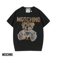 ingrosso camicie di migliore qualità-La migliore vendita 2019 nuova moda italiana di alta qualità in cotone uomo e donna T-shirt manica corta moda Medusa T-shirt