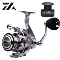 Wholesale high quality spinning reels resale online - High Quality BB Double Spool Fishing Reel Gear Ratio High Speed Spinning Reel Carp Fishing Reels For Saltwater T191015