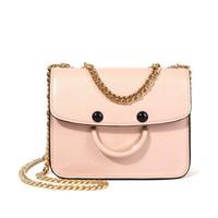 bolsa mini sonrisa al por mayor-Sonrisa de lujo bolsos para las mujeres del estilo coreano pequeña cadena 2019 mujeres Messenger Bags alta calidad Mini bolso de hombro bolsos