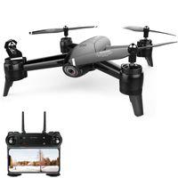 caméras vidéo pour enfants achat en gros de-SG106 RC Drone Flux Optique 1080P HD Double Caméra En Temps Réel Vidéo Aérienne RC Quadcopter Aéronef Positionnement RTF Jouets Enfants