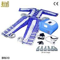 lenf drenajı ince makinası toptan satış-4 1 Tüm Vücut Masajı Vücut Lenf Drenaj zayıflama makinesi 24 Hava Çanta takım Pressotherapy Machine