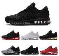 zapatos deportivos de moda con zoom al por mayor-Moda Cojín de aire 2018 zapatos deportivos para hombre Nano 2017 KPU negro blanco rojo Shock Jogging diseñador zapatillas deportivas tamaño 40-46