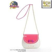 sac à bandoulière couleur bonbon achat en gros de-Nouveau dames Sailor Moon Sac de sucrerie de couleur de la chaîne sac à bandoulière en cuir PU mignon Bow Femme sac Messenger Petit sac à bandoulière