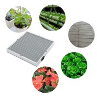 Wholesale 225 LED All Blue Spectrum Hydroponic Plant Grow Light Panel Board Lamp Bulb AC85 V for All Cycles of Plant Growth US EU Plug