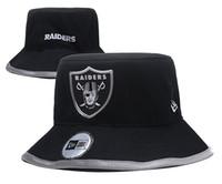chapéus de beisebol esportes em equipe venda por atacado-Raider Um dos homens Pedaço esporte ao ar livre Bucket Chapéus com logotipo da equipe Marcas Fãs Hip Hop baratos Sunhat Headwear Baseball Caps ajustáveis ósseas